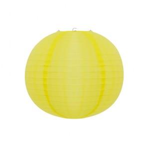 Luminária Oriental Amarelo