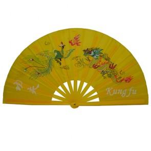 Leque Tai Chi - Amarelo