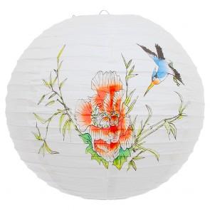 Luminária Oriental Beija-Flor