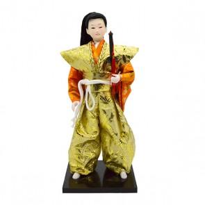 Boneco japonês samurai 001