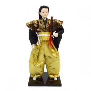 Boneco japonês samurai
