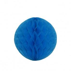 Bola decorativa 20 cm: colmeia de abelha - Azul