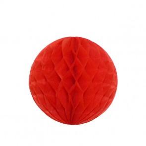 Bola decorativa 20 cm: colmeia de abelha - Vermelho