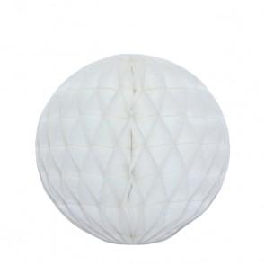 Bola decorativa 30 cm - Branco