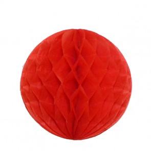 Bola decorativa 30 cm - Vermelho