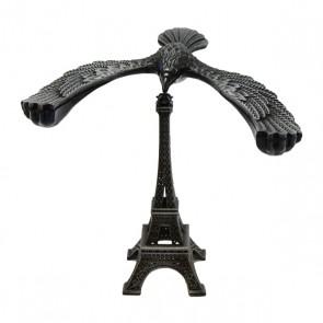 Torre Eiffel com águia equilibrista prata