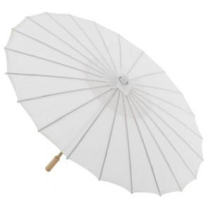 Sombrinha Oriental Branca, Sombrinha para casamento, Sombrinha Japonesa Branca