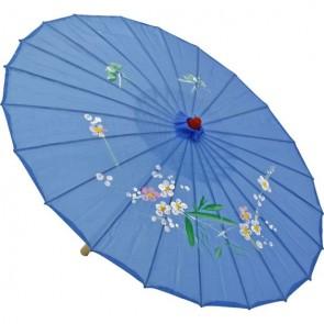 Sombrinha Oriental Azul