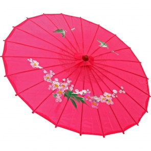 Sombrinha Oriental Pink