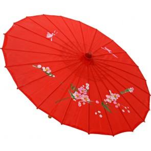 Sombrinha Oriental Vermelho