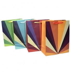 Sacola para presente: diagonal G