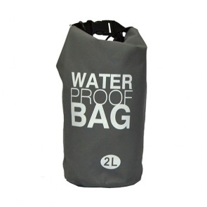 Bolsa à prova d' água 2 litros cinza