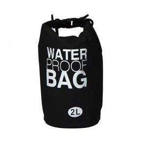 Bolsa à prova d' água 2 litros preto