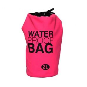 Bolsa à prova d' água 2 litros rosa