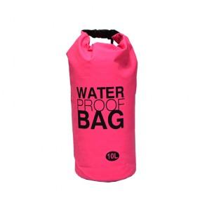 Bolsa à prova d' água 10 litros rosa