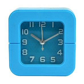 Relógio despertador: quadrado Azul