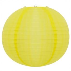 Luminária Tecido Amarela