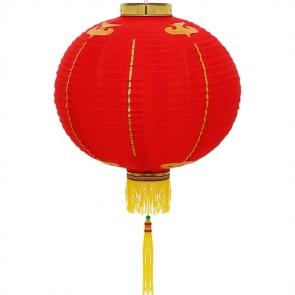 Luminária oriental 40 cm: vermelho